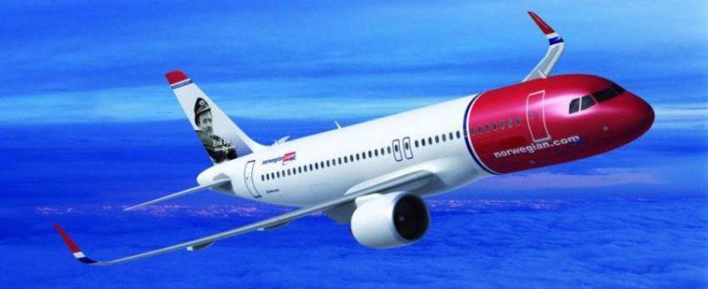 Photo de la compagnie aérienne norvégienne