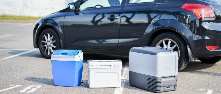 Réfrigérateur de voiture - choisissez le meilleur correctement