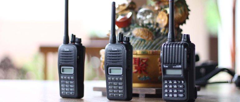 Choisissez un talkie-walkie