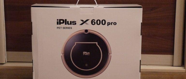 iPlus x600pro PetSeries photo d'un robot aspirateur
