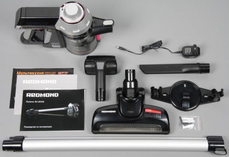 Set complet de l'aspirateur Redmond