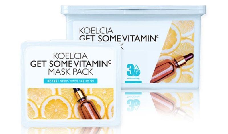 KOELCIA Chiffon Masque Get Some Pack Masque avec Vitamine C photo