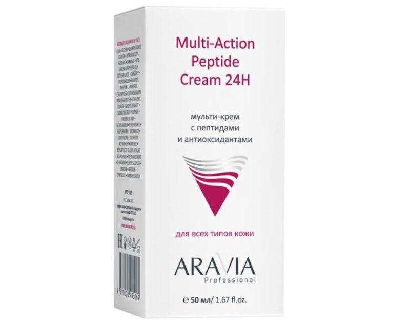 Crème peptidique multi-actions, photo professionnelle ARAVIA