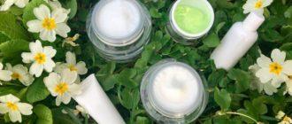 Nous choisissons des produits cosmétiques avec niacinamide